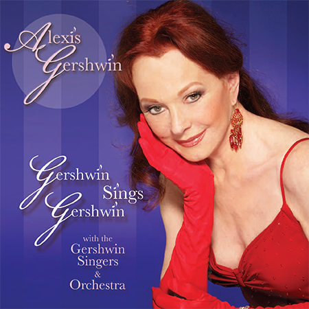 "CD cover ""Gershwin Sings Gerhswin"""